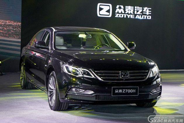 众泰Z700H 正式上市
