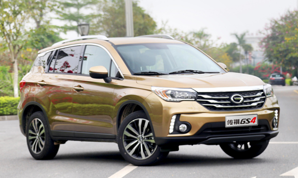 10万级的SUV 长安CS55 全新哈弗H6 传祺GS4