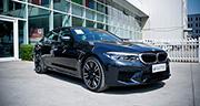 能文能武西装暴徒 实拍全新一代BMW M5